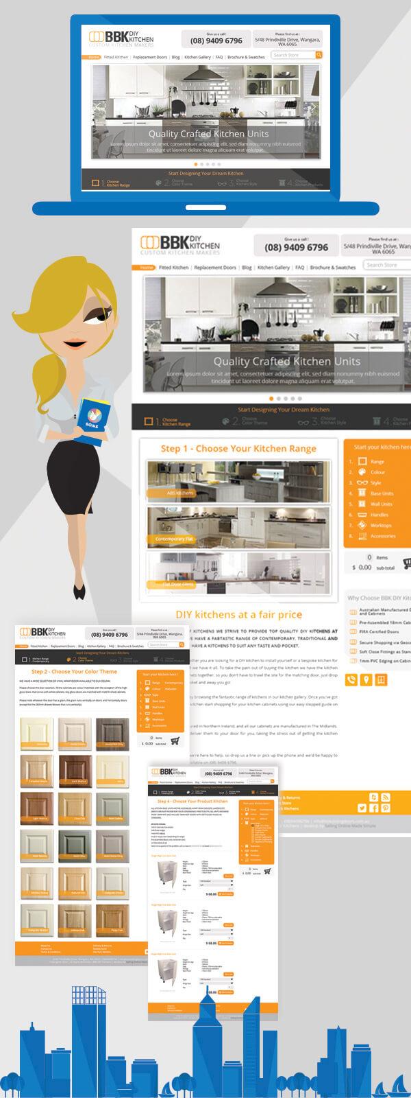Perth Web Design for Kitchen