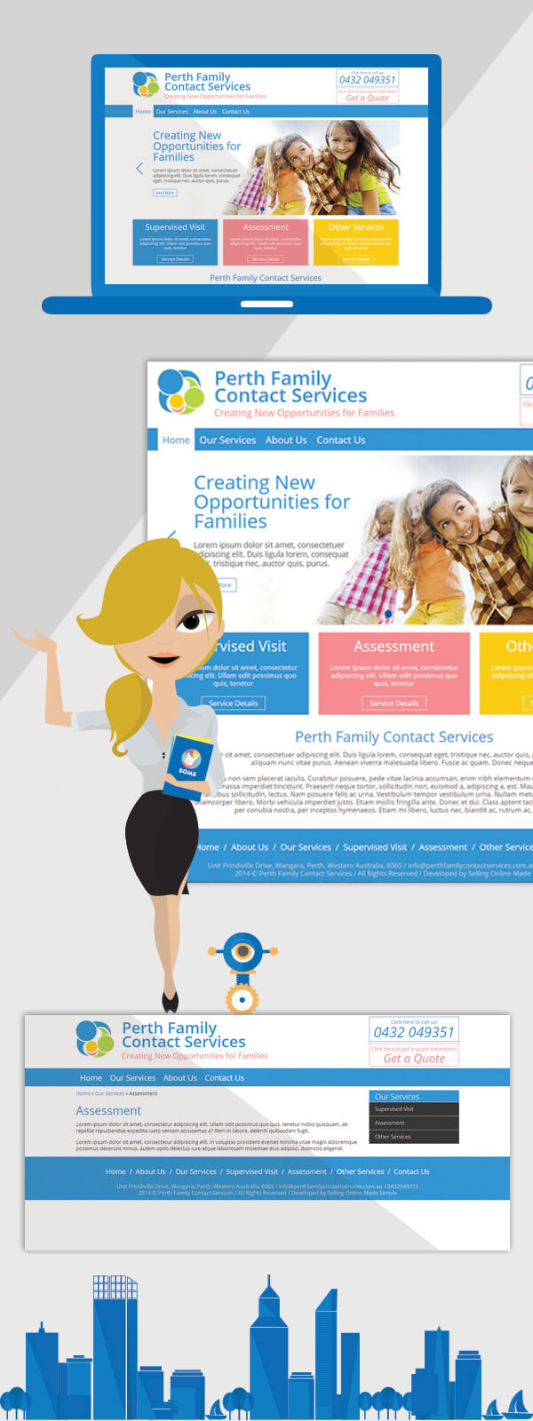 Website for Family Services