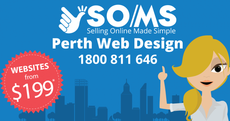 SOMS Perth Web Design - selling online made simple