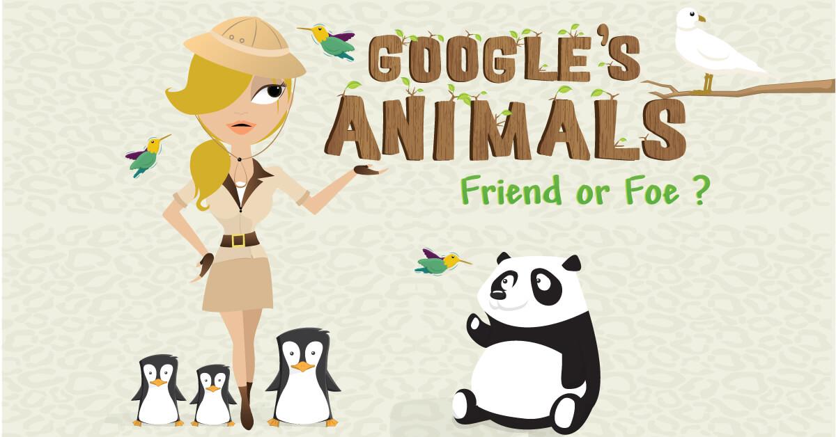 google's SEO animals - friend or foe